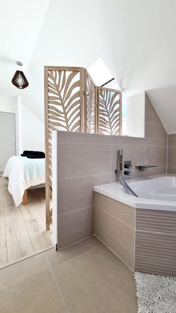 Salle de bain chambre 4